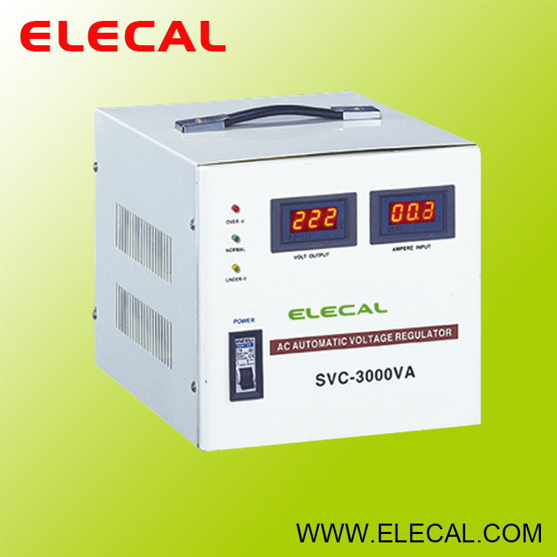 SVC (LED) Automatic Voltage Stabilizer