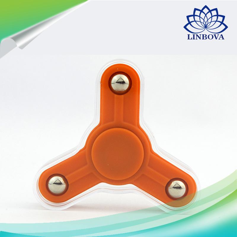 2017 Gift Tri Finger Spinner Fidget Spinner Toy Hand Spinner