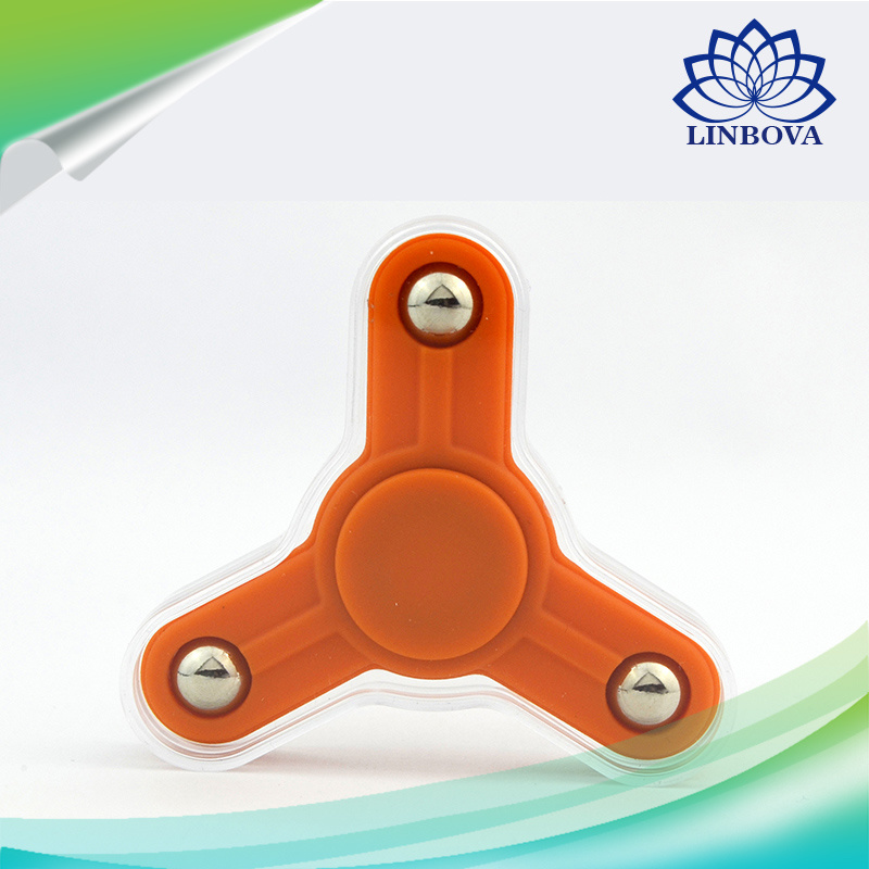 2017 Hot Sale Tri Finger Spinner Finger Fidget Spinner Finger Hand Spinner