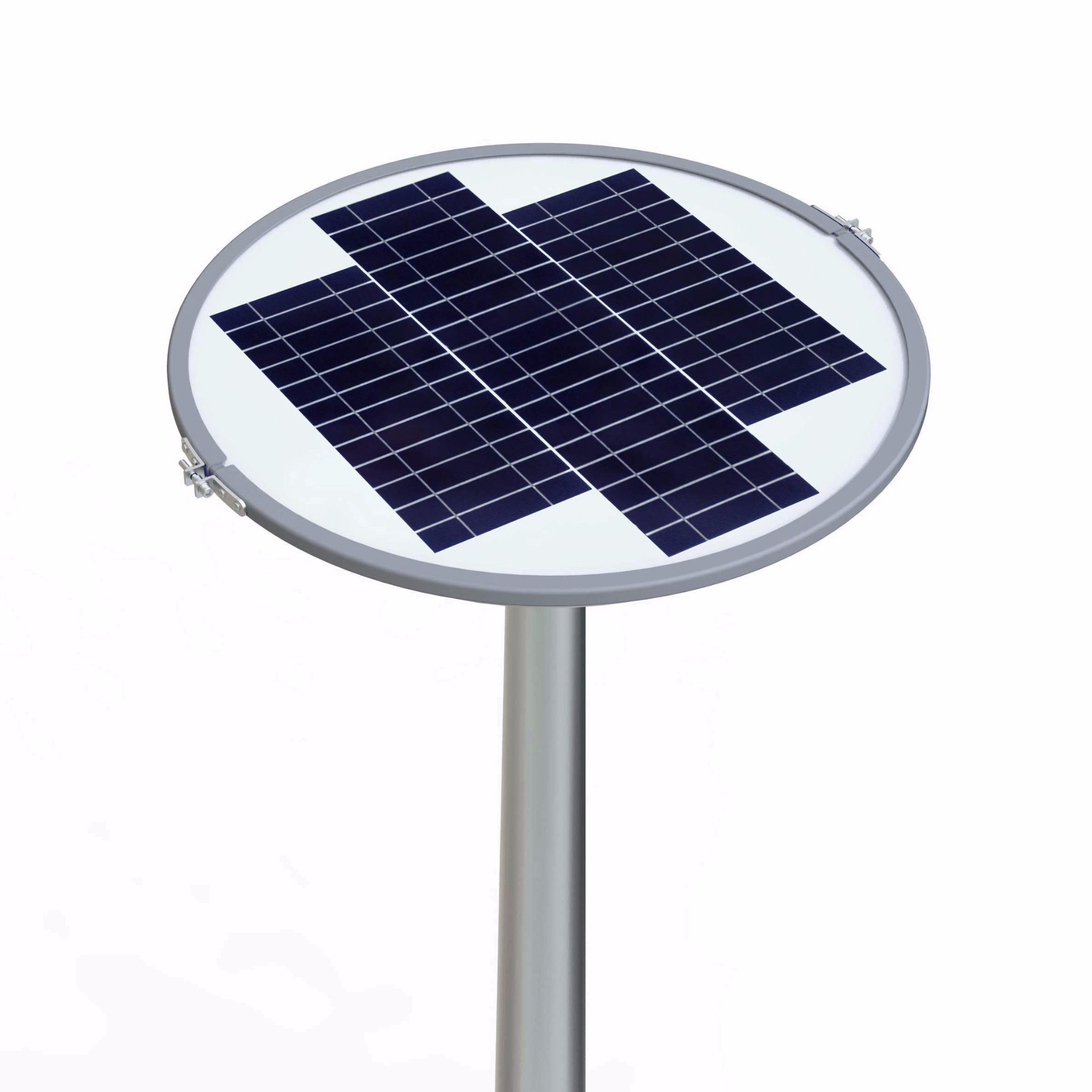 Sresky out Door Pole Mount Street Solar Light Tall Light Waterproof