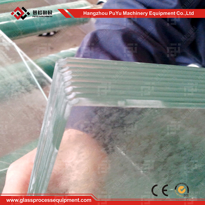 Glass Straight-Line Pencil Double Edger Machine for Solar Glass