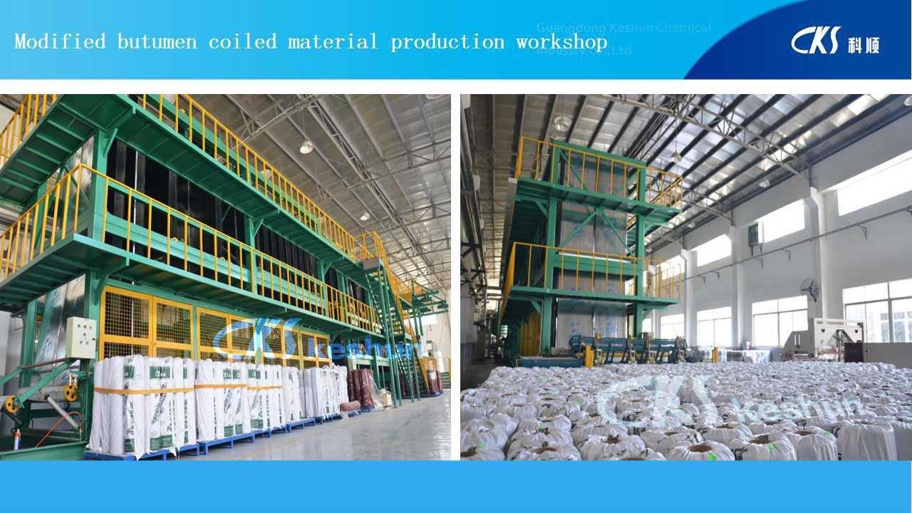 Ks-959 Polymer Modified Bitumen Waterproof Membrane for Railway &Bridge