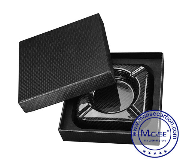 Black Custom Smoking Accessories Cheap Cigar Ashtray with Custom Logo Factory