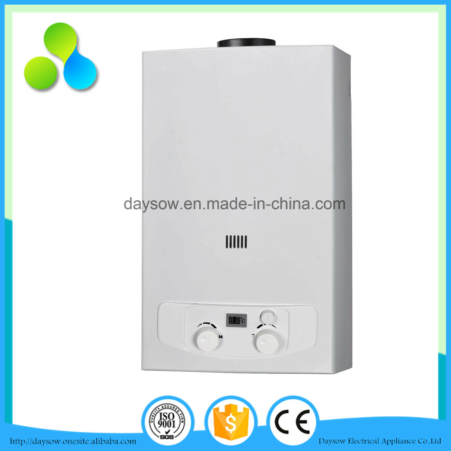 High Efficiency Stainless Steel Gas Water Heater
