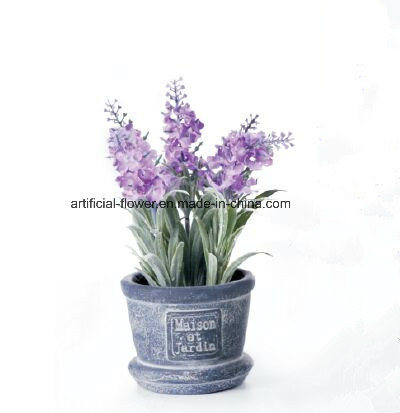 Silk Lavender 2017 Hot Sale High Quality Artificial Silk Lavender Flower