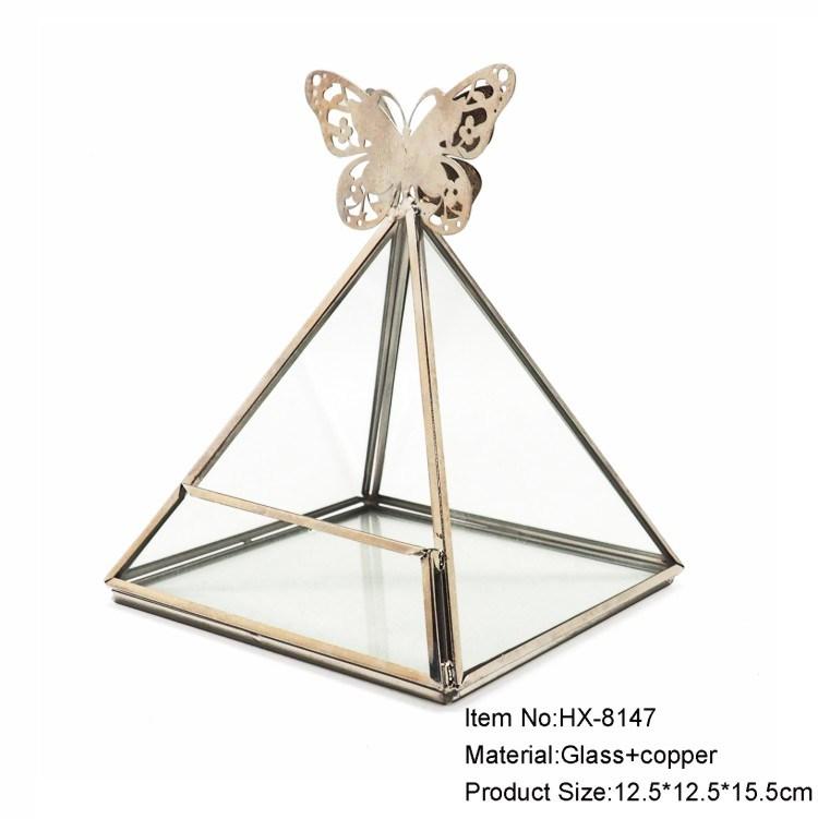 Lowest Price Tabletop Glass Terrarium Vase Manufacturer