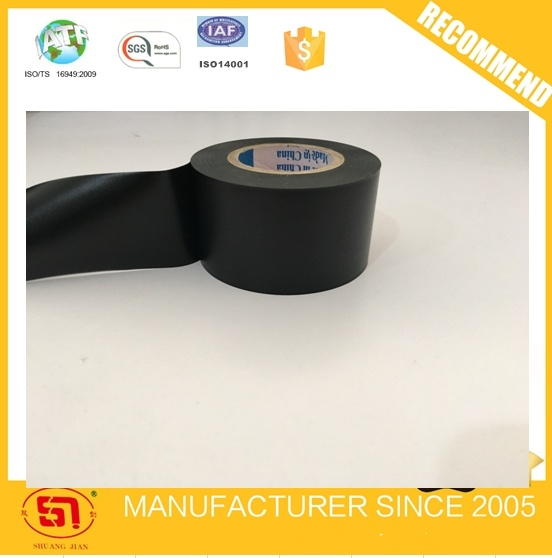 Black PVC Electrical Insulating Tape for Automobile Wire Harness