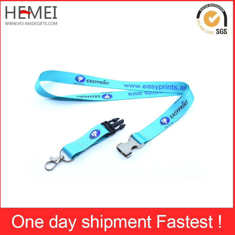 Thermal Transfer Label Card Rope Sling High-Grade Certificate Lanyard