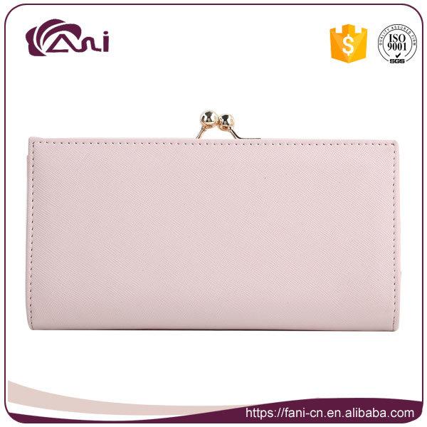 Wallets Factory, Pink Blue PU Wallets Manufacturer by Fani