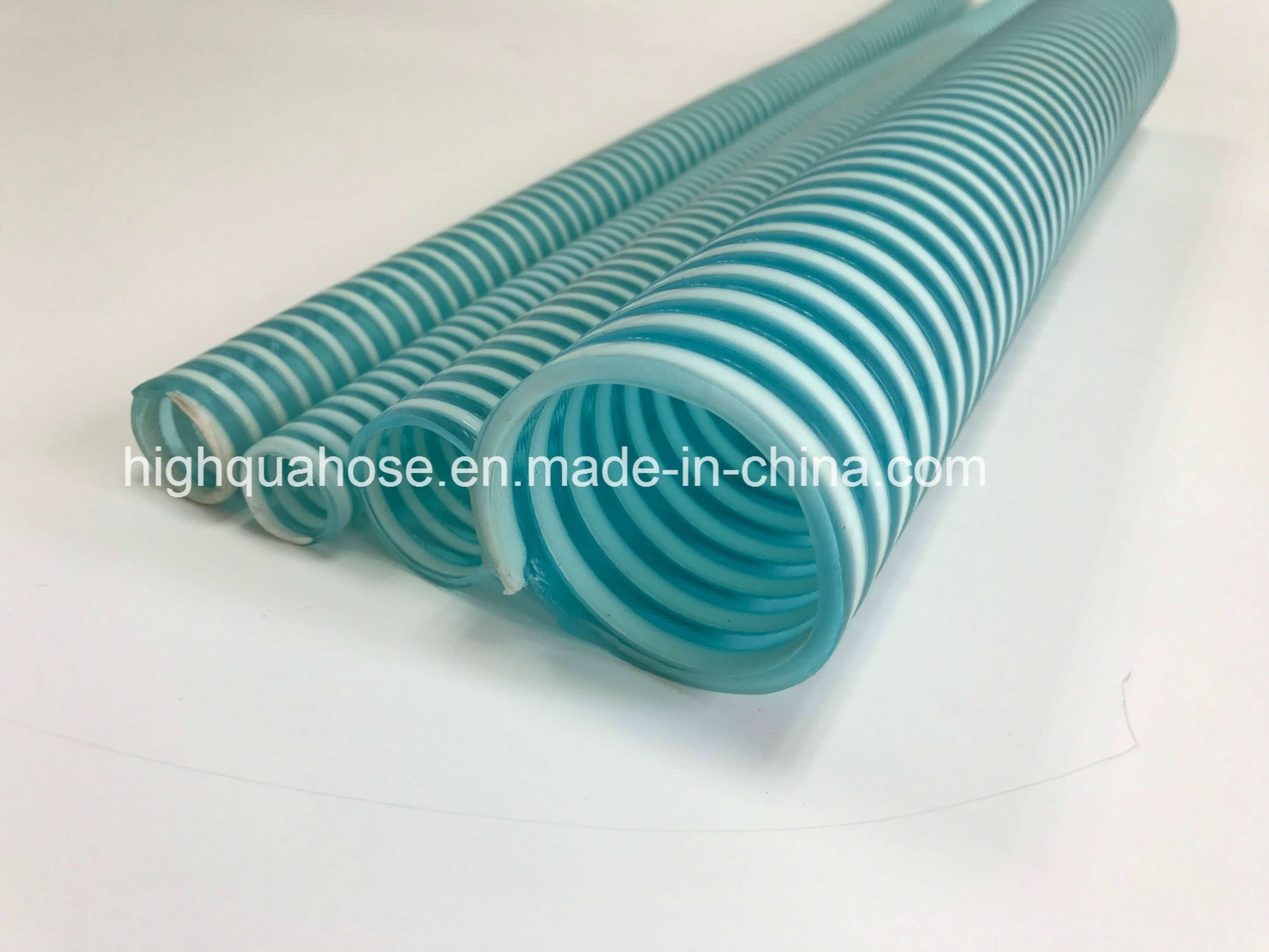 Chinese Manufacture Flexible Corrugated Spiral PVC Suction Hose