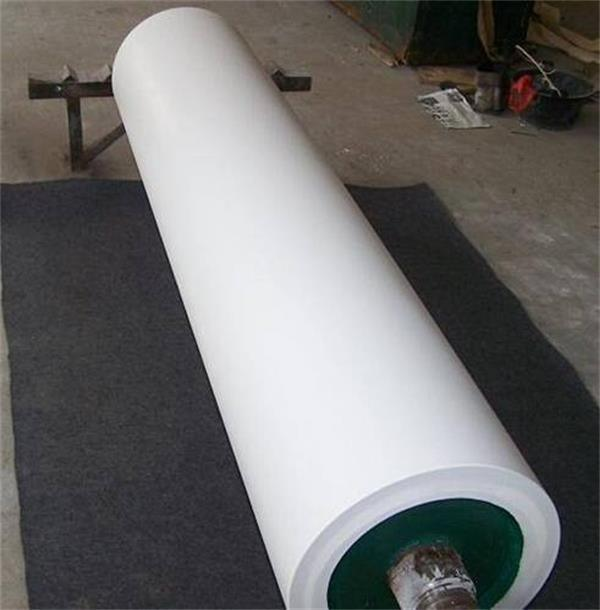 Rubber Coated Plated Coating Aluminum aluminium Roller/Rolls for Belt Conveyor