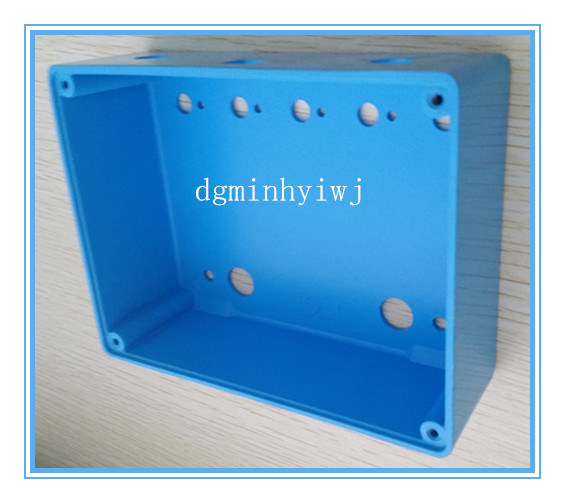 Aluminum Die Casting for Music Equipment Parts with Painting and Silk-Screen Treatments