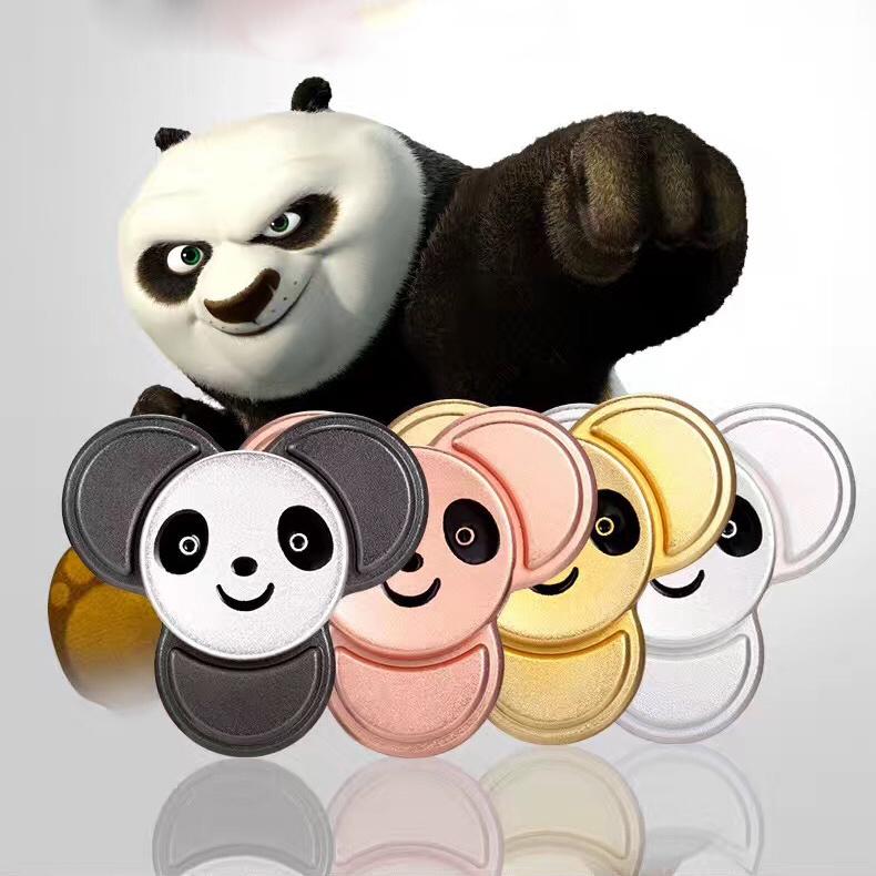 New Fidget Toy Panda Cute Hand Spinner Metal Finger Stress Spinner
