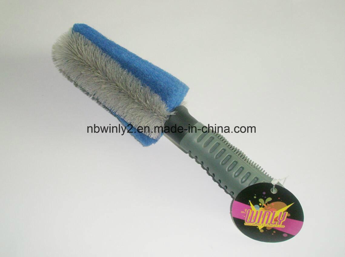 Scouring Pad Car Brush