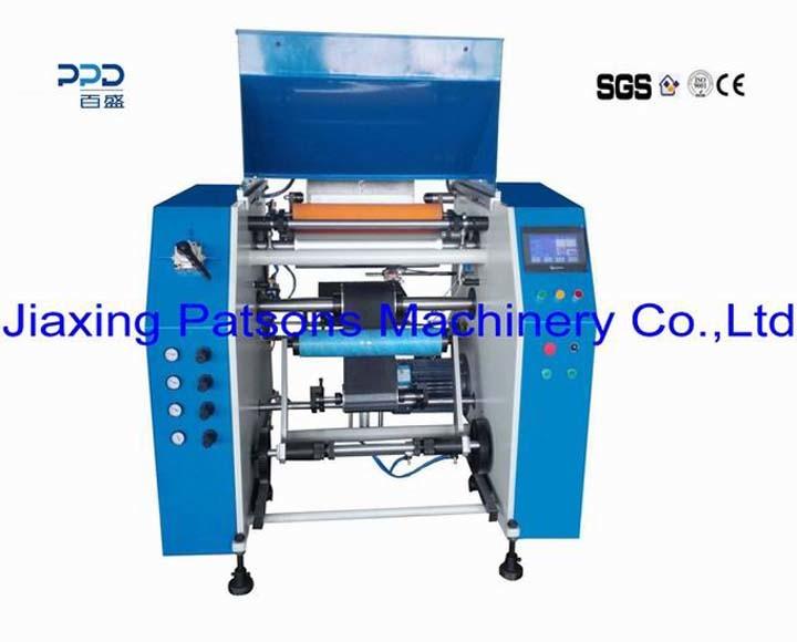 Cheap Price Automatic 3 Shaft Stretch Film Winding Machine