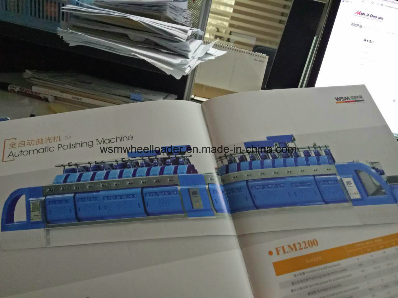 20 Head Automatic Polishing Machine