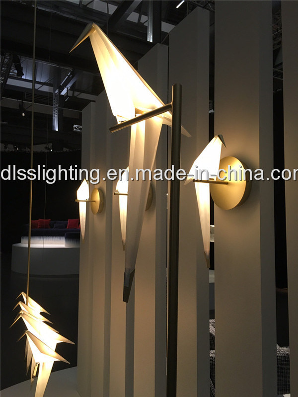 Decorative Bird-Shaped LED Wall Lamps for Indoor Lighting