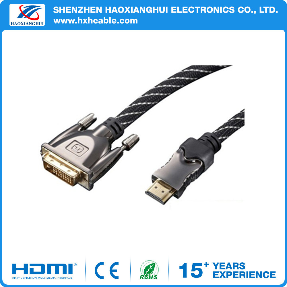 High Quality Golden Plated Ethernet HDMI to VGA