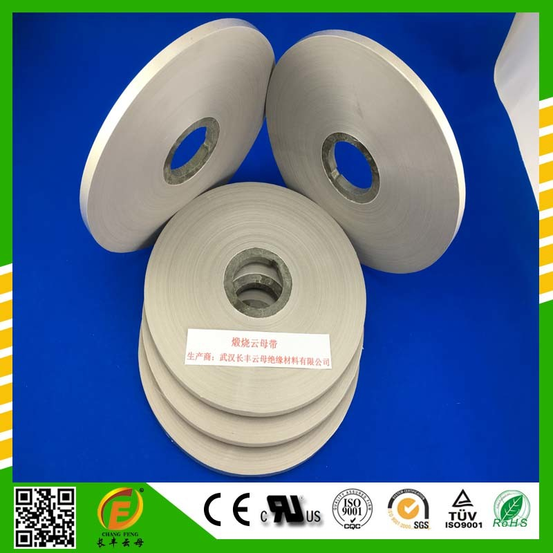 Mica Tape for Fire-Resistant Electrical Materials for Cable Winding 0.14mm