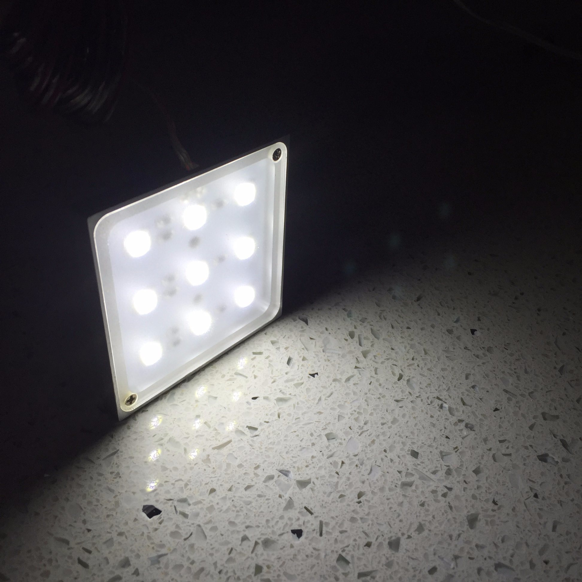 LED Kitchen Lighting Square Puck Light