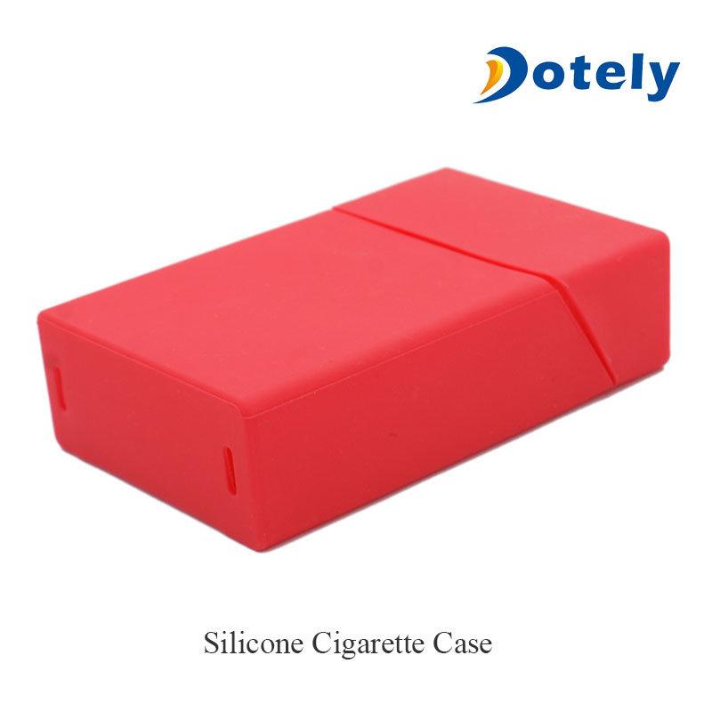 Silicone Rubber Cigarette Case Pack Holder