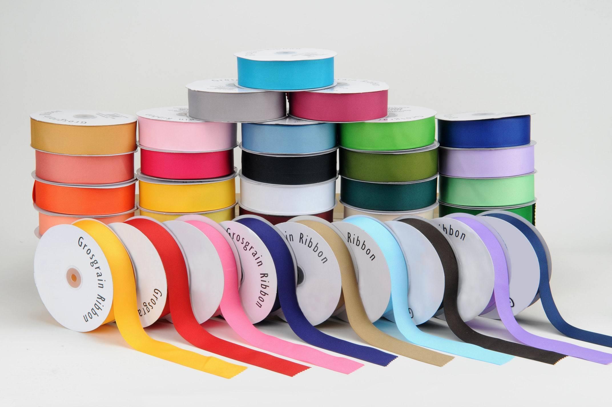 Colourful Grosgrain Ribbon