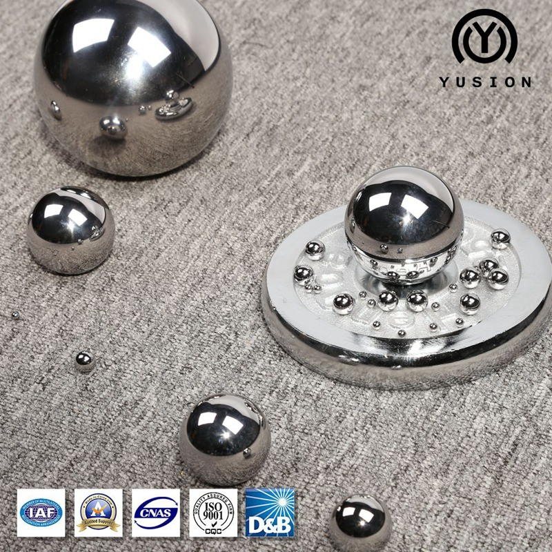 15.875mm~150mm Chrome Steel Ball AISI 52100
