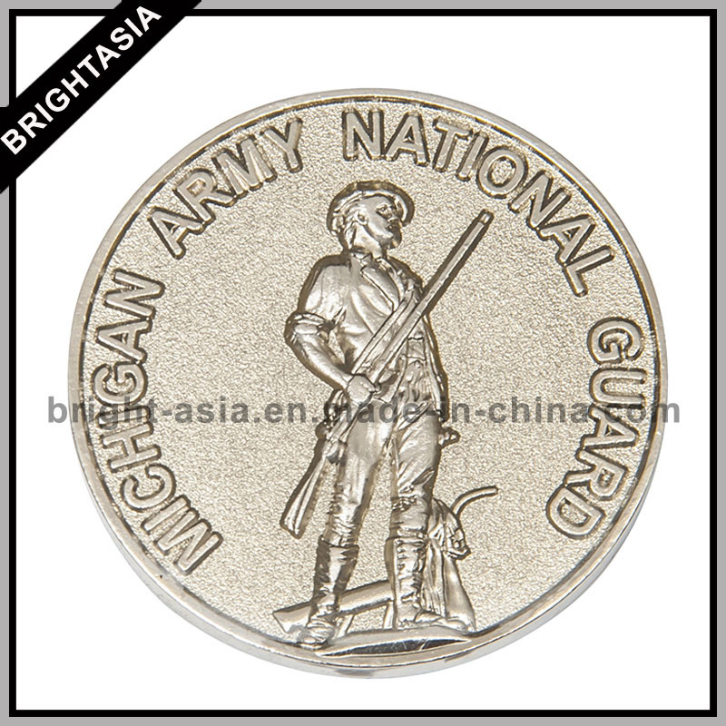 High Quality Custom 3D Metal Coin for Souvenir (BYH-10813)