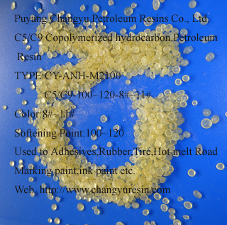 C5/C9 Copolymerized Hydrocarbon Petroleum Resin for Hot Melt Adhesives (CY-ANH-M2100)