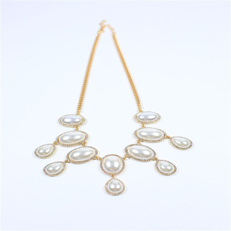 New Item Glass Acrylic Pearl Fashion Jewelry Earring Bracelet Necklace
