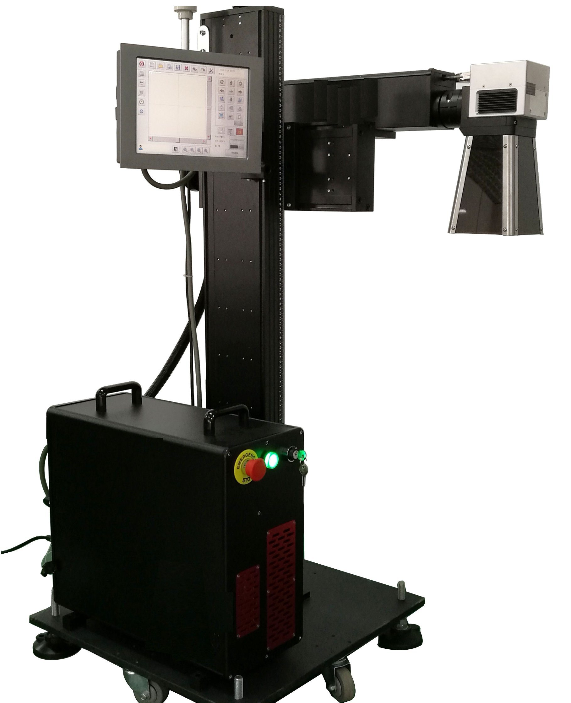 20W 30W Plastic Ipg Fiber Laser Marking Machine for Plastic, PVC, PE and Non-Metal