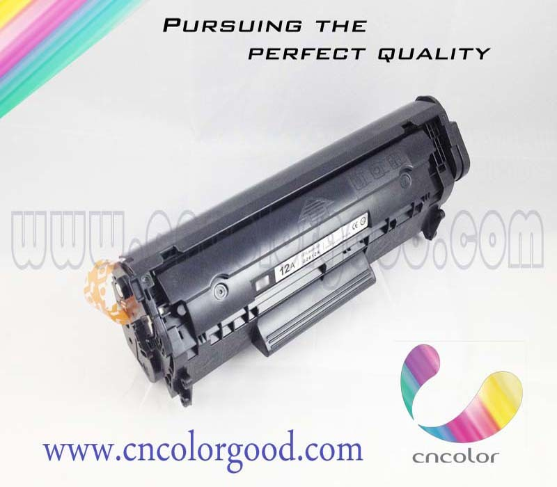 China Premium Toner Cartridge for HP Original Laserjet 12A