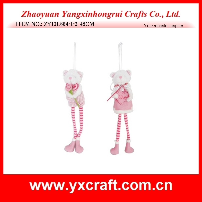 Valentine Decoration (ZY13L884-1-2) Soft Bear Valentine Toy