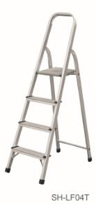 Step Stool Foldable Aluminum Ladder (SH-LF04T)