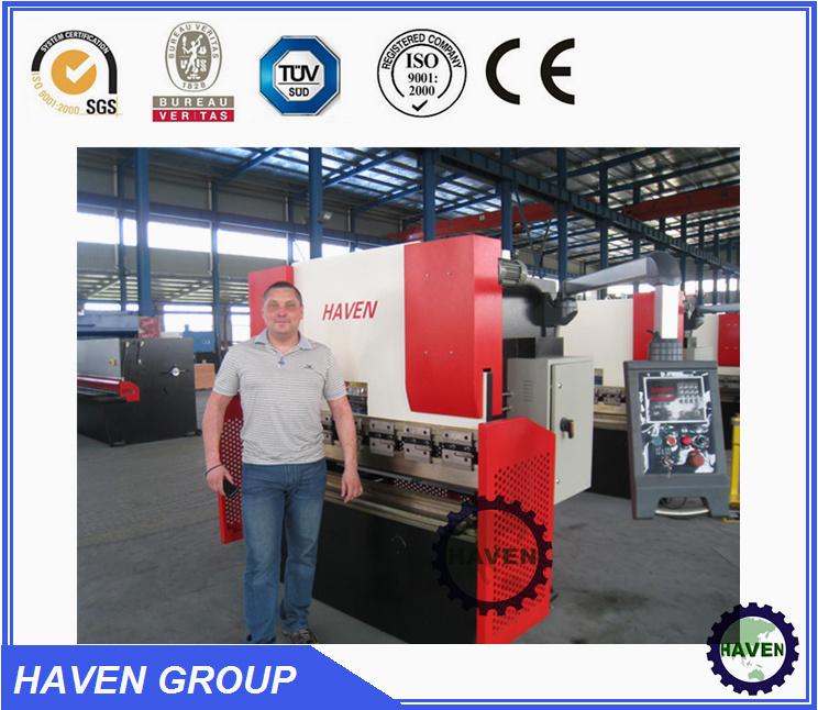 WE67K-250X3200 CNC Electric Hydraulic Synchronization Hydraulic Press Brake