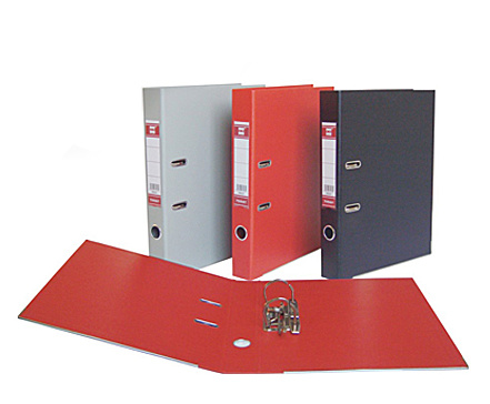 Customized Double PVC Lever Arch File-Dp107