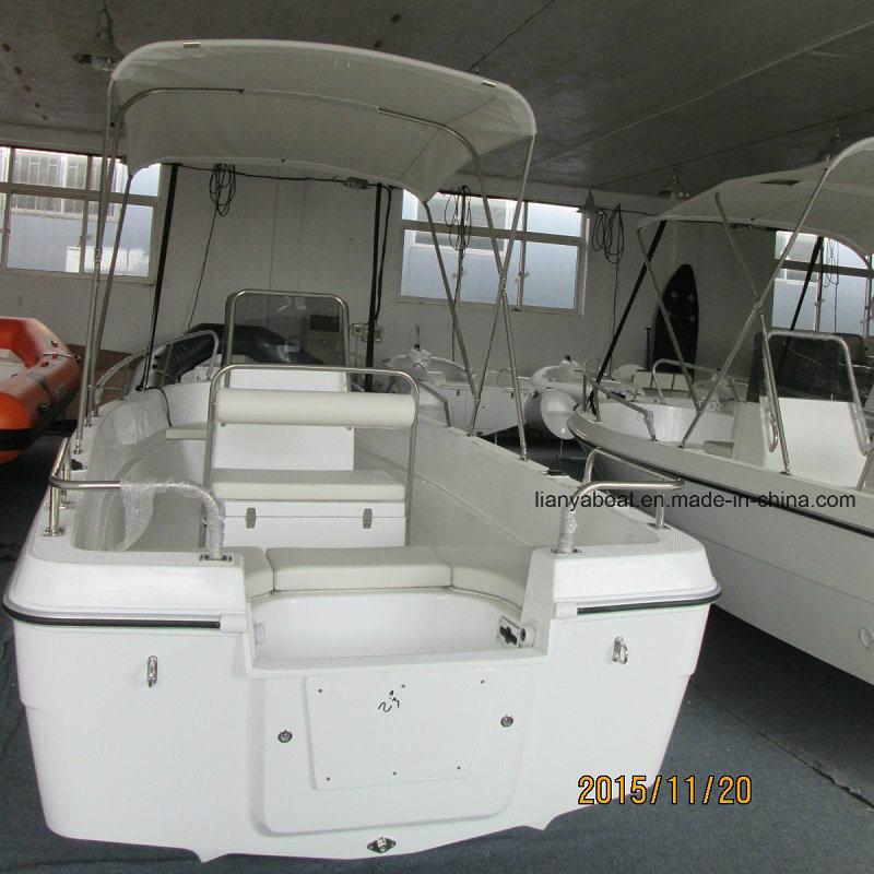 Liya 5m Fiberglass Material Boat Sport Fishing Yachts