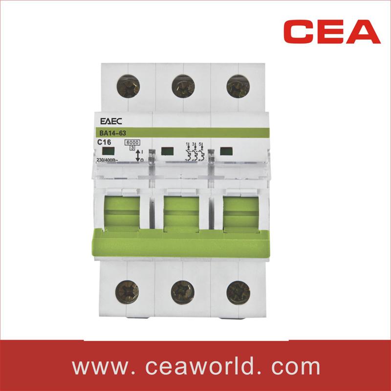 Dz47-63 C45 Miniature Circuit Breaker