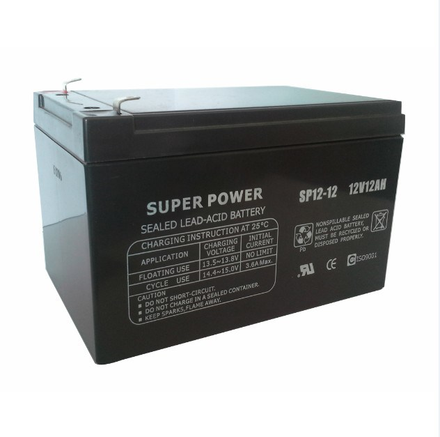 UPS Battery 12V 12ah with CE UL ISO9001 Certificated (SP12-12)