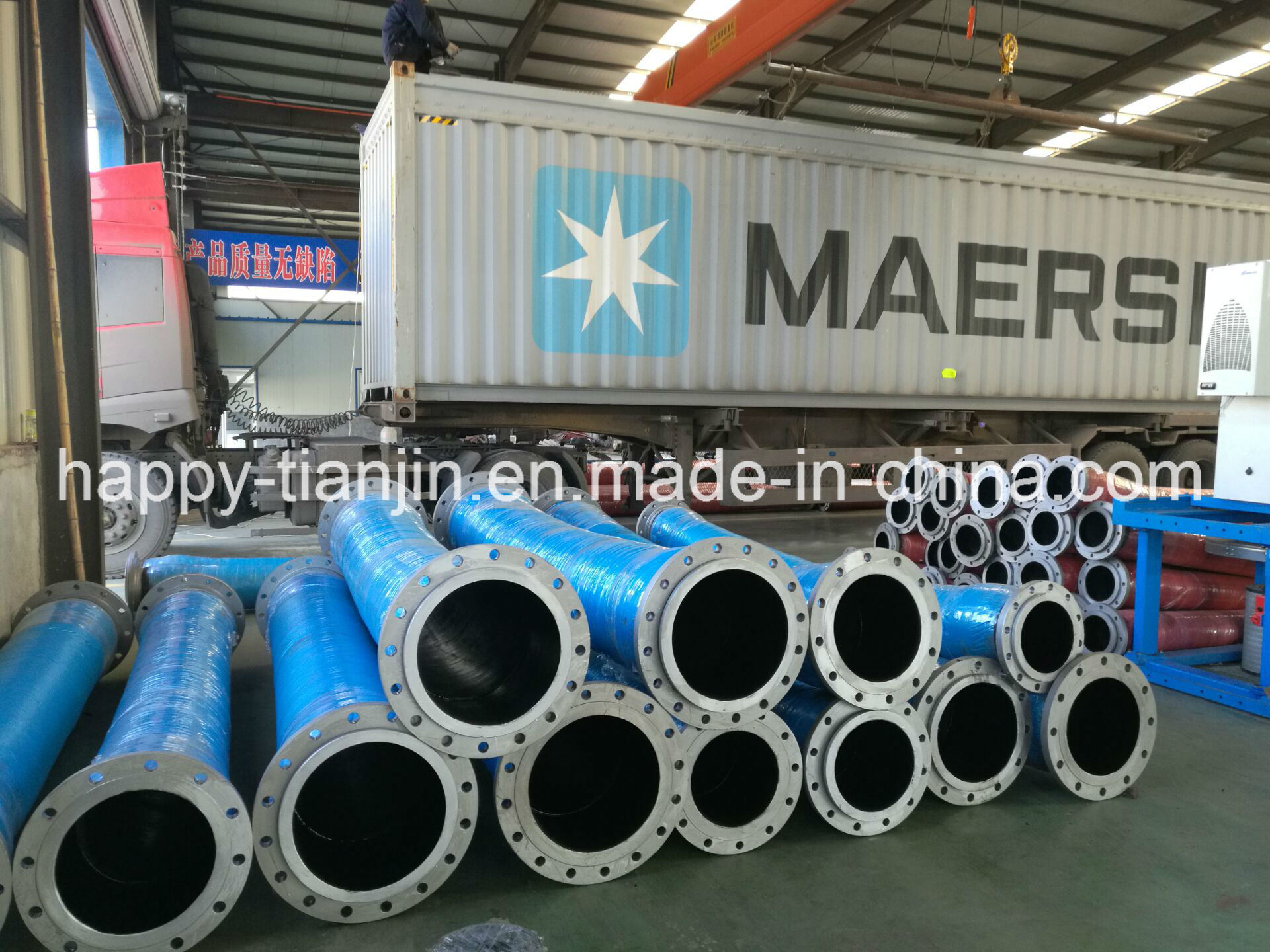 Corrugated or Smooth High Pressure Water Suction & Discharge Hose