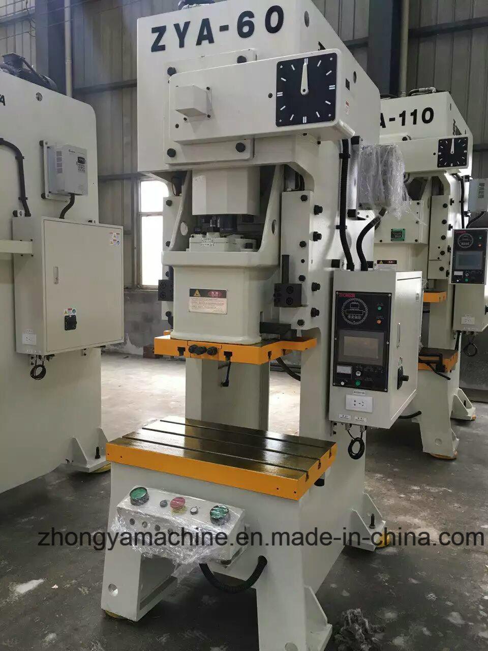 High Precision Pneumatic Power Press Punching Machine Zya-60ton