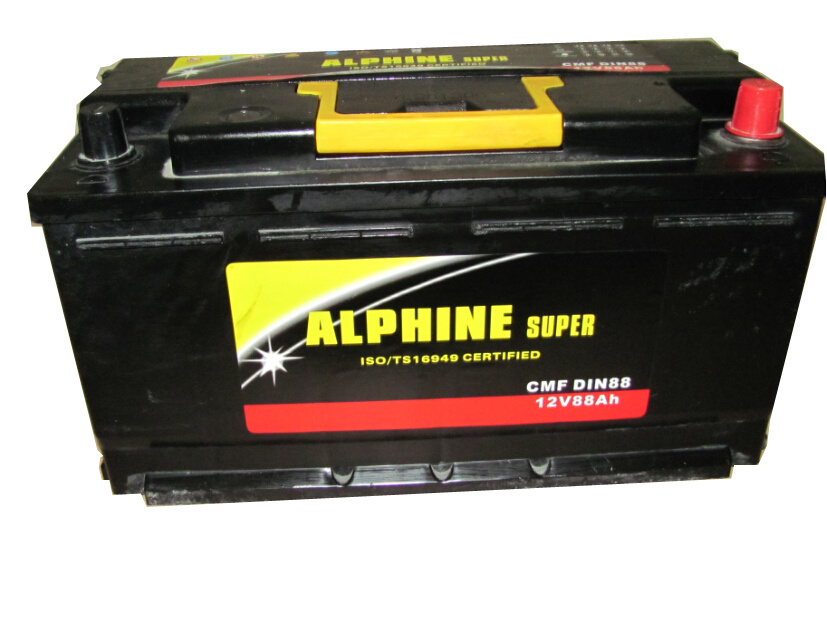 Mf Car Battery DIN88 Mf/ Wet Car Battery of High Quality