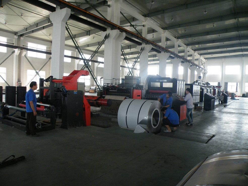 Coil-to-Coil Wide Belts Polishing Machine (COG-T3-1550-2)