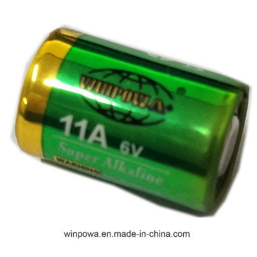 0% Mercury 6V Alkaline Battery 11A