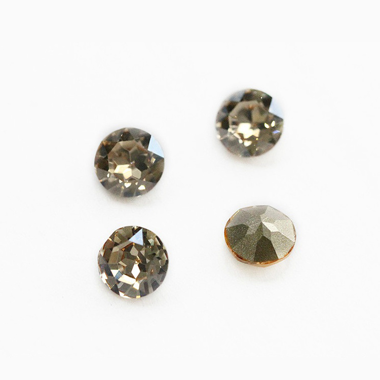 High Quality K9 Glass Rhinestone Pointed Rivoli Stone for Jewelry
