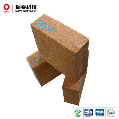 Designed for Cement Rotary Kiln Magnesia Fused Spinel Brick