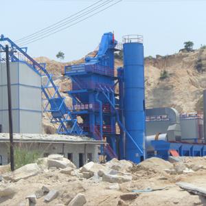 120t Stationery Asphalt Plant QLB-1500
