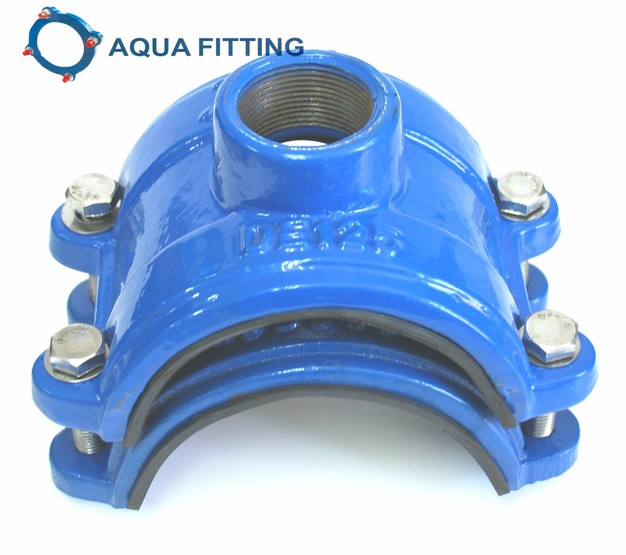 Tapping Saddle for PVC PE Pipe