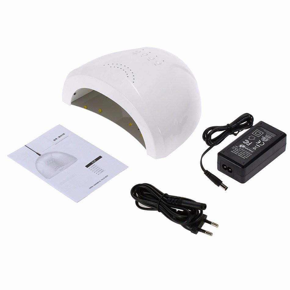 24/48W UV Lamp Nail Polish Dryer