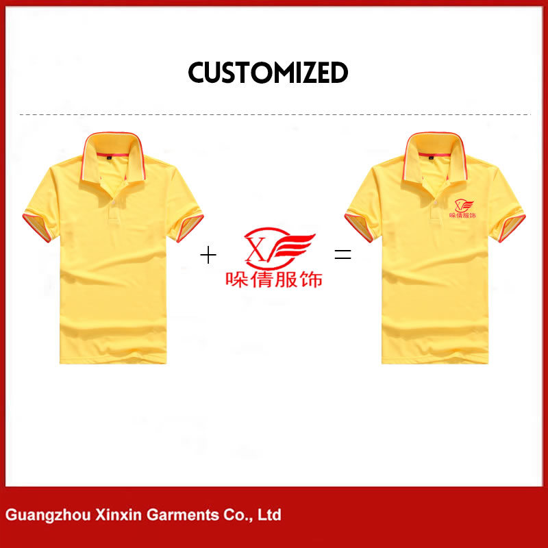 Custom Design Your Own Polo Tee Shirts with Printing Embroidery Logo for Promotion (P118)